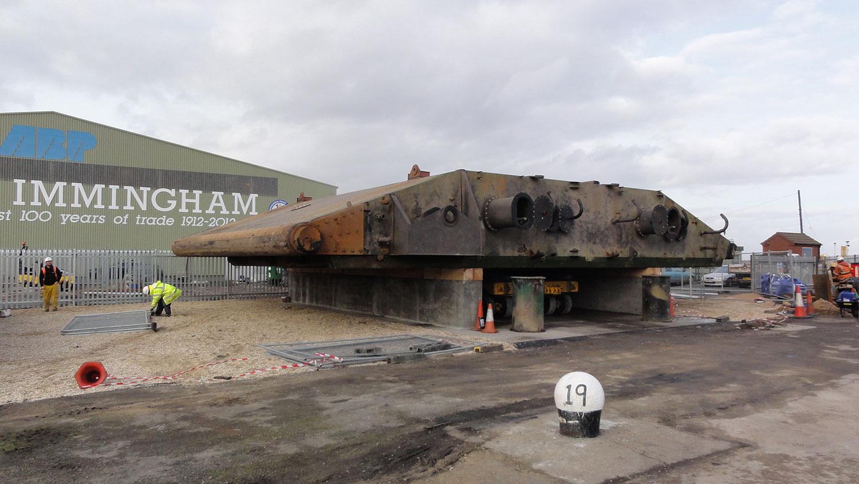 Associated British Ports Immingham Lockgates Jembuild
