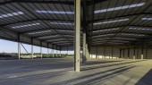 Pictures: www.DaveMoss.com 07977516933 Rainham Steel shed £1.8m contract by Jembuild at Scunthorpe.