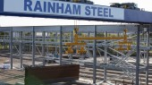 Pictures: www.DaveMoss.com 07977516933 Rainham Steel Scunthorpe cranes finished phase one for Jembuild